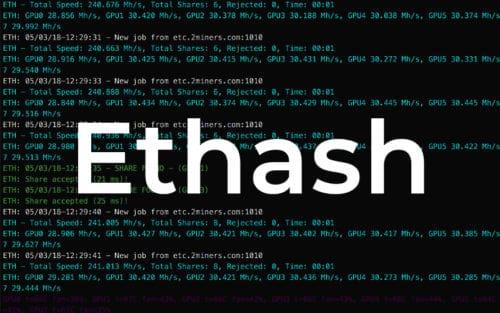Алгоритм Ethash